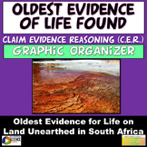 NGSS Claim Evidence Reasoning (CER) Oldest Evidence of Lif