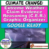 Distance Learning NGSS Climate Change & Extreme Weather Cl