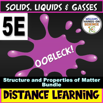 NGSS & Common Core 5E Oobleck Lab