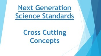 NGSS Cross Cutting Concepts