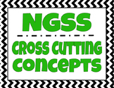 NGSS Cross Cutting Concepts - Classroom Signs / Posters (w