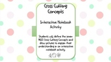 NGSS Cross Cutting Concepts Interactive Notebook Activity