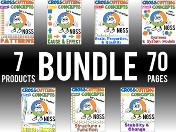 NGSS Crosscutting Concepts BUNDLE