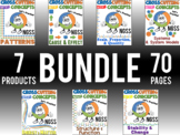 NGSS Crosscutting Concepts Worksheet BUNDLE