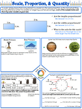 NGSS Crosscutting Concepts: Scale, Proportion, & Quantity