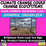 NGSS Current Event Claim Evidence Reasoning Climate Change May Change Ecosystems