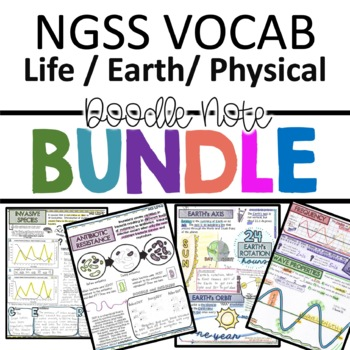 NGSS Doodle Notes Bundle