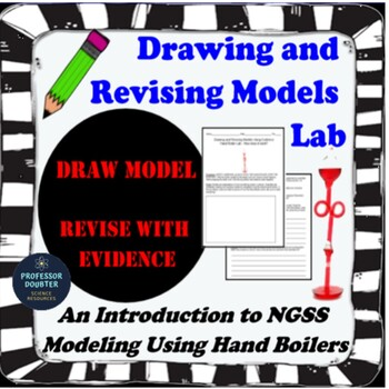 NGSS Drawing and Revising Science Models (adding thermal energy) Lesson MS-PS1-4