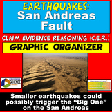 NGSS ESS2.B ESS1.C Claim Evidence Reasoning Earthquakes Ridgecrest San Andreas
