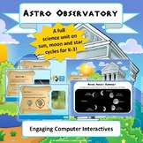 """NGSS Earth & Space Science: """"Astro Observatory"""" STEM Unit   1-ESS1-1"""