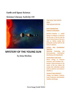 NGSS Earth & Space Science Astronomy Lesson Plan #11 SpaceWeather,Solar Activity