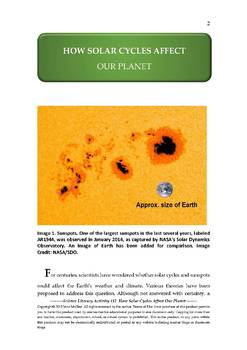 NGSS Earth & Space Science Astronomy Lesson Plan #12 Space Weather & Our Weather