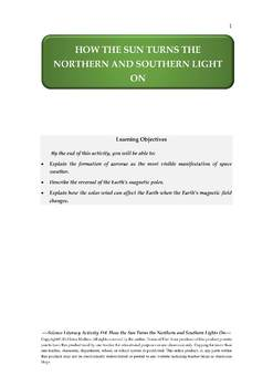 NGSS Earth & Space Science Astronomy Lesson Plan #14 Sun, Earth's Magnetosphere