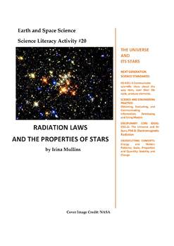 NGSS Earth & Space Science Astronomy Lesson Plan #20 Radiation Laws and Stars
