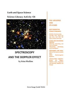 NGSS Earth & Space Science Astronomy Lesson Plan #24 Spectroscopy,Doppler Effect