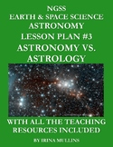 NGSS Earth & Space Science Astronomy Lesson Plan #3 Astron