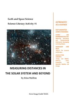 NGSS Earth & Space Science Astronomy Lesson Plan #4 Measuring Distances in Space