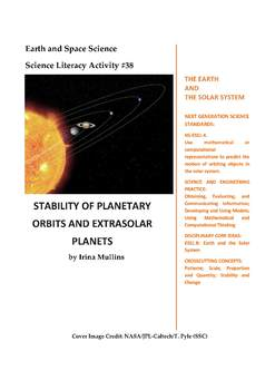 NGSS Earth & Space Science Astronomy Lesson Plan #38 Planetary Migration