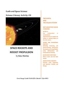 NGSS Earth & Space Science Astronomy Lesson Plan #39 Space Rockets, Propulsion
