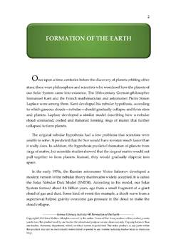NGSS Earth & Space Science Astronomy Lesson Plan #43 Formation of the Earth