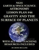 NGSS Earth & Space Science Astronomy Lesson Plan #44 Gravi