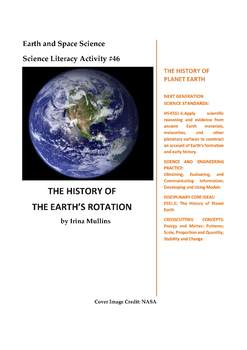 NGSS Earth & Space Science Astronomy Lesson Plan #46 History of Earth's Rotation