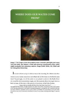 NGSS Earth & Space Science Astronomy Lesson Plan #49 Impact Cratering & Water