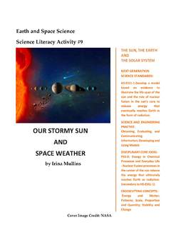 NGSS Earth & Space Science Astronomy Lesson Plan #9 Solar Flares and CME