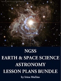 NGSS Earth and Space Science Astronomy Lesson Plans BUNDLE