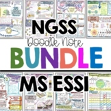 NGSS Earth and Space Science Doodle Notes for Middle Schoo