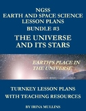 NGSS Earth and Space Science Lesson Plans BUNDLE #3 The Universe and Its Stars