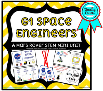 NGSS Earth's Place in the Universe  Mars Rover S.T.E.M. Challenge