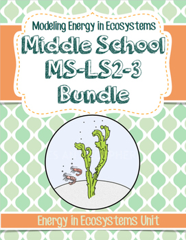 NGSS Ecology Middle School Bundle for MS-LS2-3