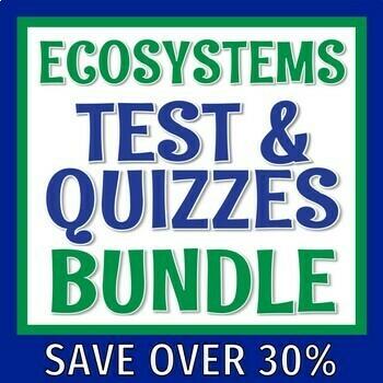 Biodiversity Quiz Worksheets & Teaching Resources   TpT