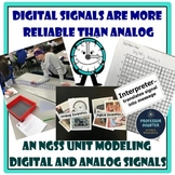 Analog and Digital Signals NGSS Middle School Science CER Unit MS-PS4-3