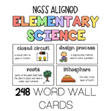 NGSS Elementary Science Word Wall