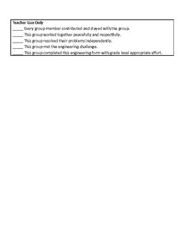 NGSS Engineering Challenge Group Planning Template