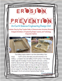 NGSS Earth Science-Erosion Prevention Challenge: TONS of Supplements Included!