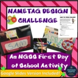 First Day of School Science STEM Activity Distance Learnin