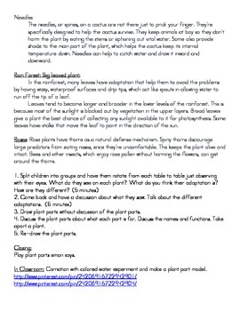 NGSS First Grade Science Lesson Plan