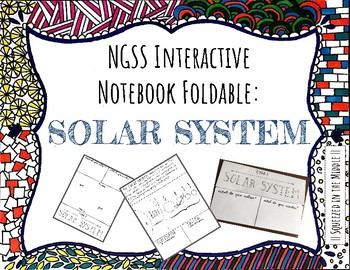 NGSS Foldables: Solar System