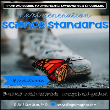 Next Generation Science Standards NGSS 3rd Grade 3-LS1 • Organisms & Processes