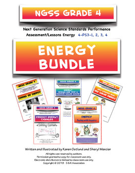 NGSS G4 Energy Bundle 4PS3-1,2,3,4