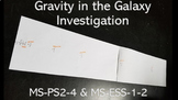 NGSS Gravity in the Galaxy Lab MS-PS2-4 MS-ESS1-2