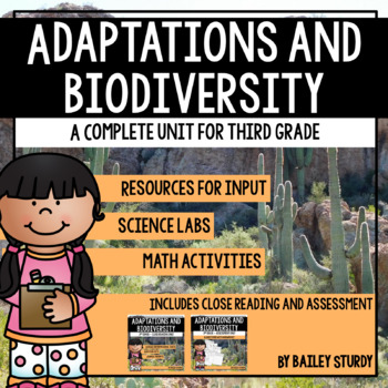 NGSS Gr3 Biodiversity and Ecosystems GLAD Unit