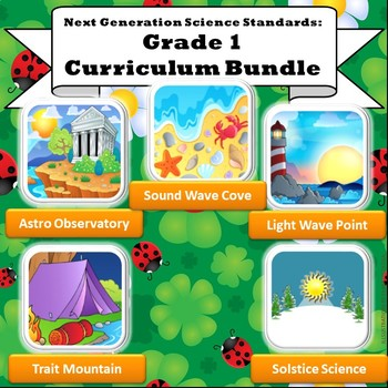 Growing NGSS Grade 1 Bundle: All 5 STEM Units (+ 1 bonus Fall 2018!)