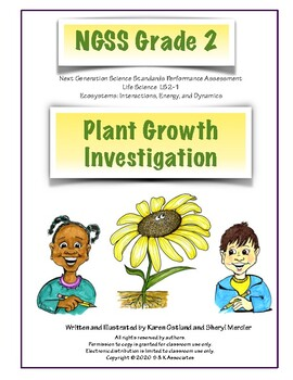 NGSS Grade 2 Plant Growth Investigation Performance Assessment