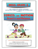 NGSS Grade 3 Forces and Motion Interactions of Balanced an