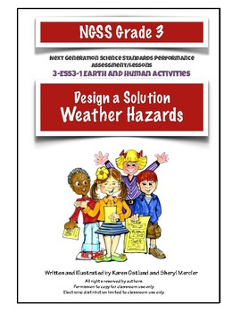 NGSS Grade 3 Weather Hazards Design Solution Performance Assessment