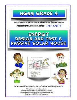 NGSS Grade 4 Energy Design and Test a Passive Solar House